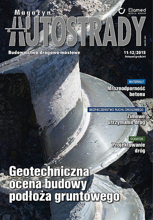 Magazyn Autostrady wydanie nr 11-12/2015
