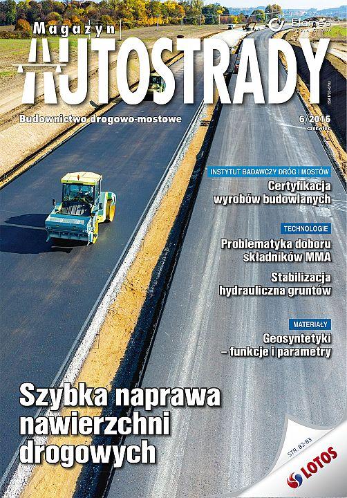 Magazyn Autostrady wydanie nr 6/2016
