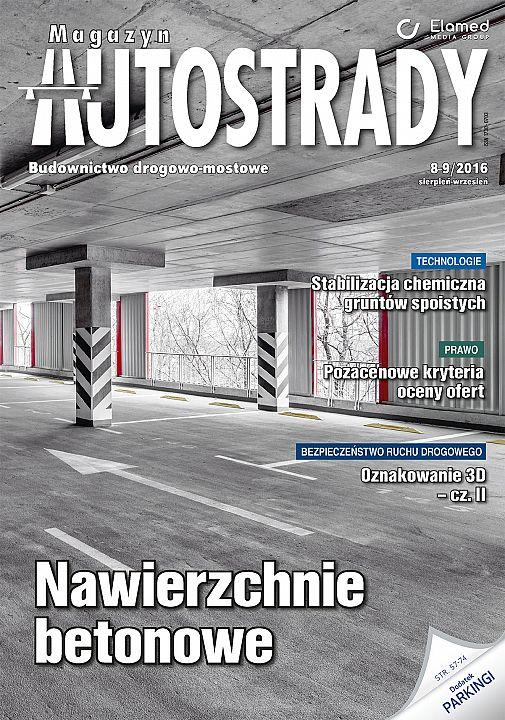 Magazyn Autostrady wydanie nr 8-9/2016