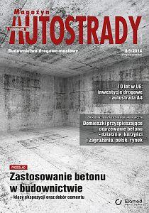 Magazyn Autostrady wydanie nr 8-9/2014