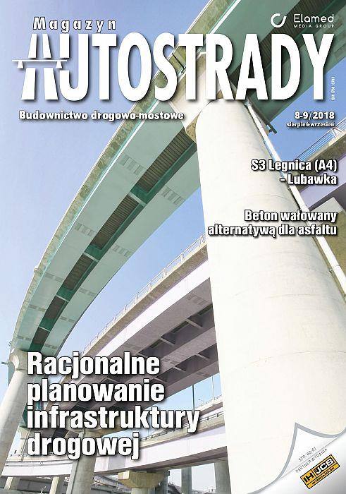 Magazyn Autostrady wydanie nr 8-9/2018