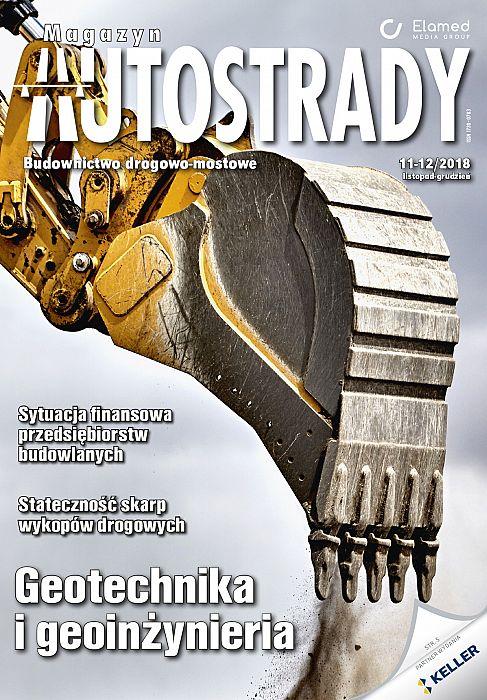 Magazyn Autostrady wydanie nr 11-12/2018