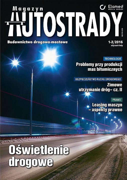 Magazyn Autostrady wydanie nr 1-2/2016