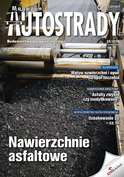 Magazyn Autostrady wydanie nr 10/2016