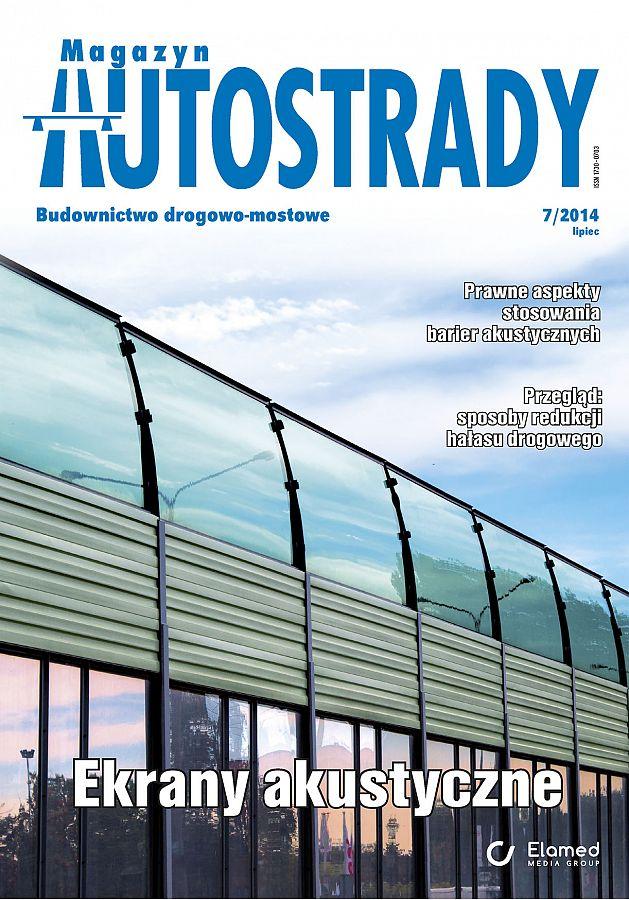 Magazyn Autostrady wydanie nr 7/2014