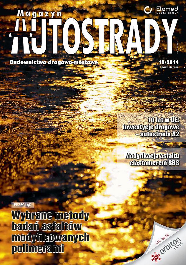Magazyn Autostrady wydanie nr 10/2014