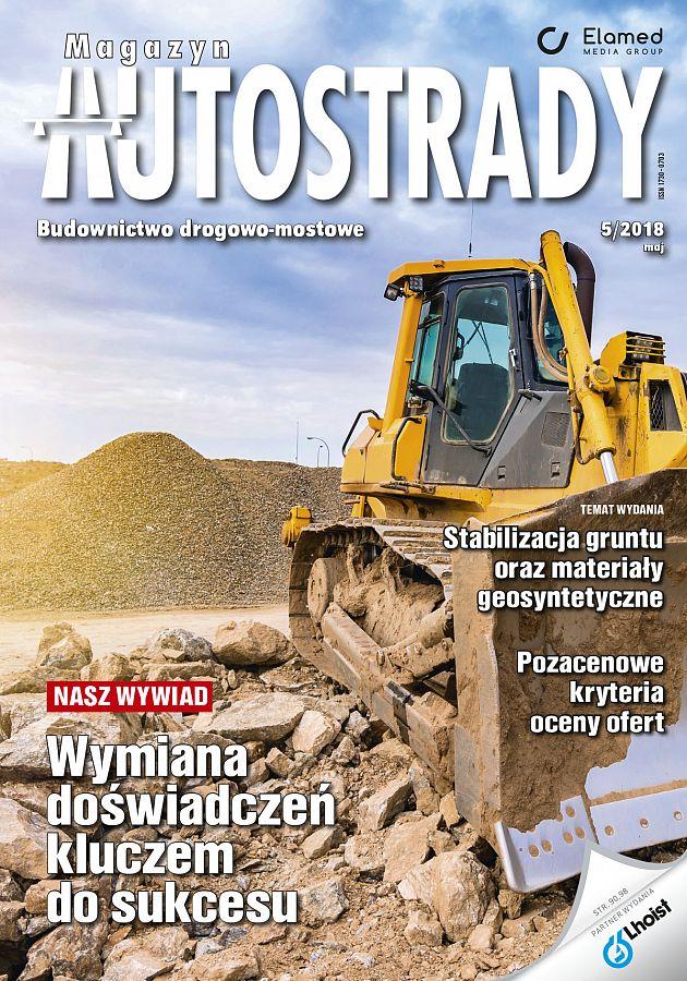 Magazyn Autostrady wydanie nr 5/2018