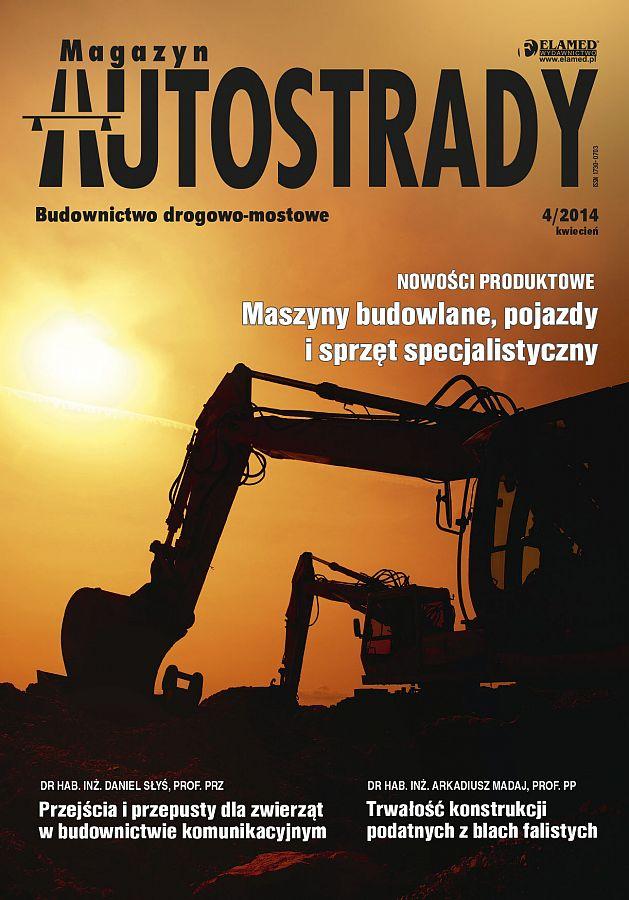Magazyn Autostrady wydanie nr 4/2014