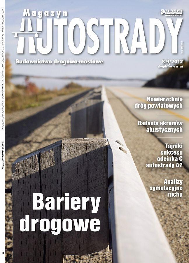 Magazyn Autostrady wydanie nr 8-9/2012